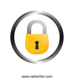 safety lock security icon image