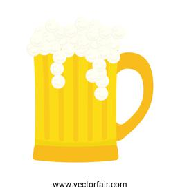glass beer icon image design