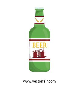 bottle of beer icon design