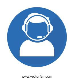 emblem technical support assistant icon