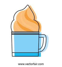 Coffee drink cup icon