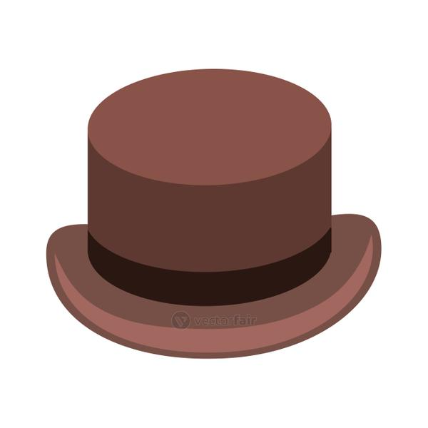 tophat vector illustration