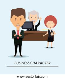 Business character design