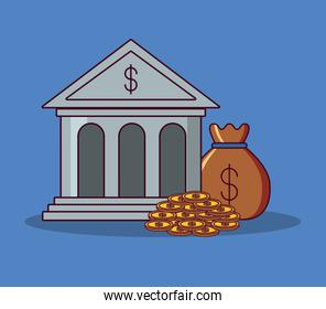 Bank building and money design