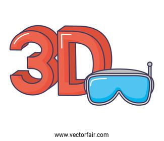 3d goggles digital technology innovation