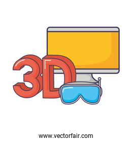 3d computer goggles digital technology innovation
