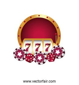 casino poker jackpot chips dices luck