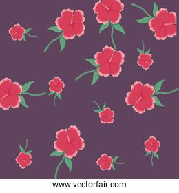 flowers floral nature foliage pattern