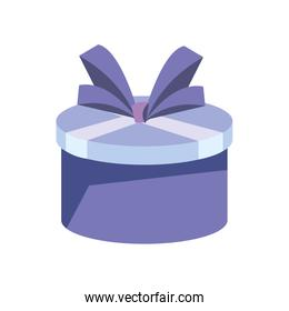 outline gift box surprise birthday