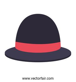 outline hat bowler style