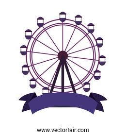 ferris wheel ribbon
