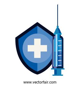 vaccination medical concept