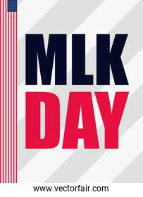 martin luther king jr day poster