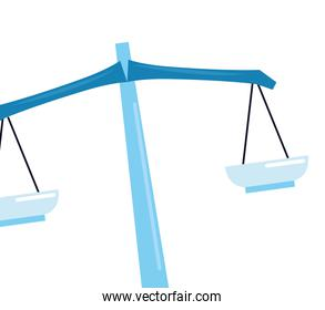 isolated balance scale law
