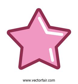 pink star icon