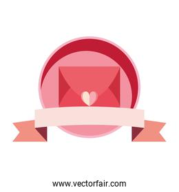 mail message love banner