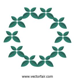 wreath leaves natural