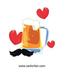 happy fathers day vector ilustration vector ilustration