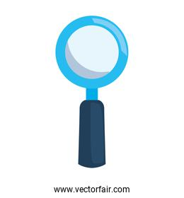 magnifying glass search icon vector ilustration