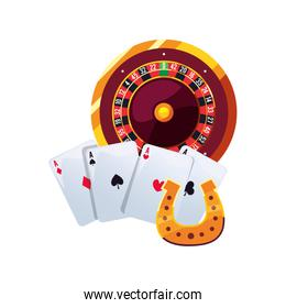roulette ace cards horseshoe casino and gambling