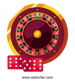 roulette dices casino and gambling