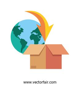 fast delivery logistic icon vectorillustrate