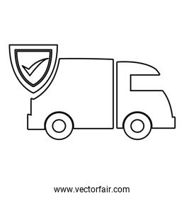 fast delivery related icon vector ilustrate