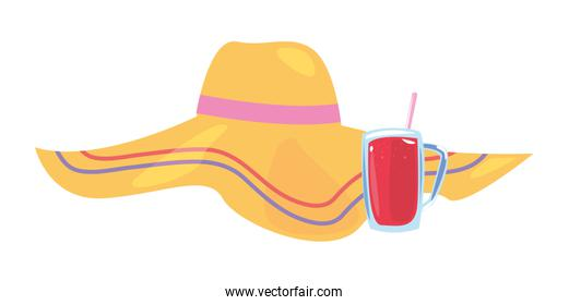 summer time holiday icon vector ilustration