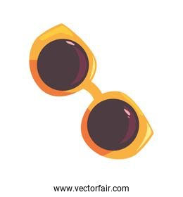 sunglasses accessory on white background