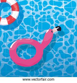 summer time vacations design vector ilustration