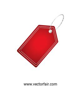 Shopping tag label