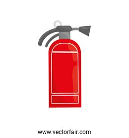 Fire extinguisher isolated