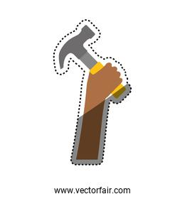 Hammer construction tool