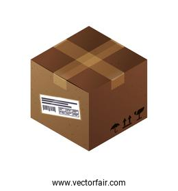 Box delivery package