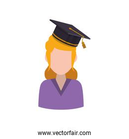 Young student profile