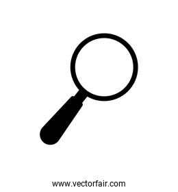 Lupe magnifying glass