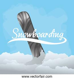 Snowboarding and winter sports