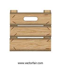 crate wooden wood planks