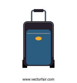Travel suitcase isolated