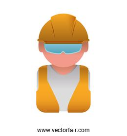 Construction worker profile