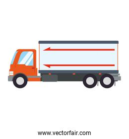 Delivery truck vehicle