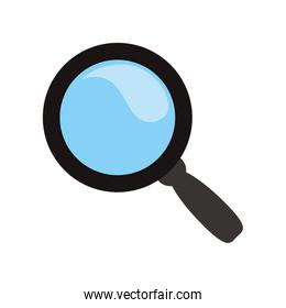 Magnifying glass lupe