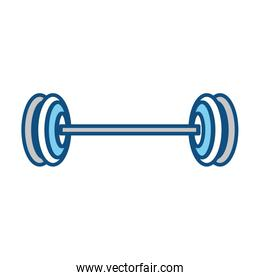 isolated gym weight
