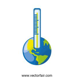 isolated care planet thermometer