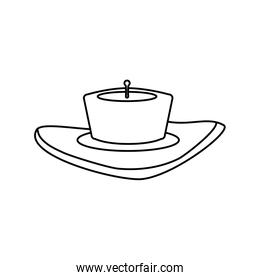 isolated candles cartoon