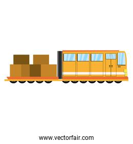 Train transport isolated