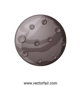 Mercury planet isolated