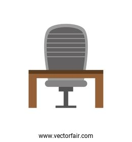 CEO chair with desk