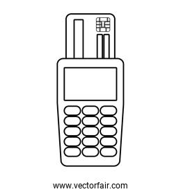 dataphone device icon