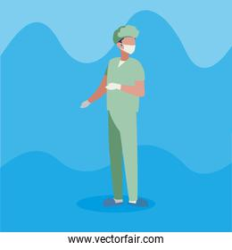 surgeon doctor professional character